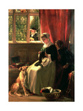 The Truant in Hiding, 1870 Giclee Print by John Callcott Horsley