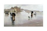 The Rain it Raineth Every Day, 1889 Giclee Print by Norman Garstin