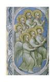 The Seven Angels of the Apocalypse Receive the Seven Flasks, 1360-70 Giclee Print by Giusto Di Giovanni De' Menabuoi