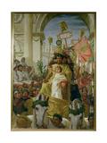 A Roman Triumph, 1838 Giclee Print by Frank Topham