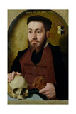 Portrait of Young Man, 1554 Giclee Print by Bartholomaeus Bruyn