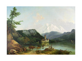 Castle of Chillon Giclee Print by Philip James De Loutherbourg