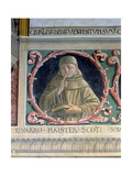 John Duns Scotus (C.1265-C.1308) 1450 Giclee Print by Benozzo di Lese di Sandro Gozzoli