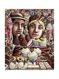 Objects of Desire (Food of Love), 2008 Giclee Print by P.J. Crook