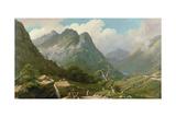 Highland Landscape Giclee Print by John Knox