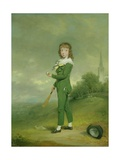 John Chandos Reade as a Boy Giclee Print by William Redmore Bigg