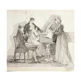 The Concert, 25th September 1805 Giclee Print by John Harden