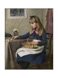 Primrose Day, 1885 Giclee Print by Ralph Todd