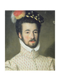 Portrait of a Gentleman Said to Be Garcia Hurtava De Mendoza, Viceroy to Peru Giclee Print by Sofonisba Anguissola