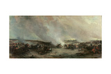 Battle of Waterloo, 1815 Giclee Print by George Jones