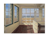 Shelter, Winter Light, Weston-Super-Mare, 2007 Giclee Print by Peter Breeden