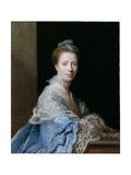 Portrait of Jean Abercromby, Mrs Morison of Haddo Giclee Print by Allan Ramsay