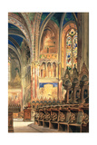 The Upper Church of St Francis, Assisi Giclee Print by Joseph Severn