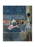 At the Cafe Royal, 1888 Giclee Print by Sidney Starr