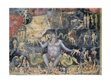 The Last Judgement, c.1305 (Detail) Giclee Print by  Giotto di Bondone