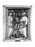Cosimo De Medici Seated Among Philosophers and Artists in the Sala Di Cosimo Il Vecchio Giclee Print by Giorgio Vasari