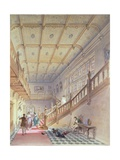 Interior of Beaumanor Hall Giclee Print by William Railton
