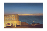 The Royal Pier Hotel, Winter's Evening II, 2007 Giclee Print by Peter Breeden