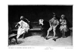 King Lear Giclee Print by Domenico Morelli