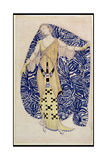 Modern Dress, Dione, 1910 Giclee Print by Leon Bakst