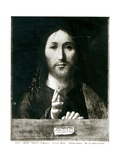 Cristo Salvator Mundi, 1465 Giclée-tryk af Antonello da Messina