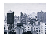 New York Water Towers, 2002 Giclee Print by Max Ferguson