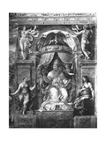 Pope Clement I (1-97) Between Moderation and Clemency, Raphael Rooms Giclee Print by Giulio Romano
