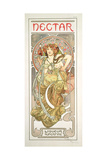 Plate 14 from 'Documents Decoratifs', 1902 Giclee Print by Alphonse Mucha