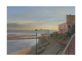 The Claremont Free House and Wine Vaults, Last Light, Weston-Super-Mare, 2007 Giclee Print by Peter Breeden