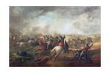Battle of Marston Moor, 1644 Giclee Print by John Barker