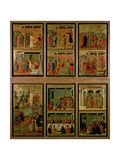 Maesta: Eleven Scenes from the Passion, 1308-11 Giclee Print by Duccio Di buoninsegna