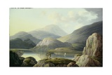 Ullswater Head, Cumberland Giclee Print by Joseph Francis Gilbert