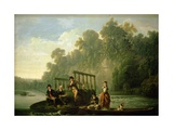 The Fishing Party Giclee Print by Joseph Farington