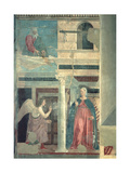 Annunciation, from the True Cross Cycle, Completed 1464 Giclee Print by  Piero della Francesca