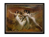 Sabrina and Her Nymphs, 1841 Giclee Print by William Etty