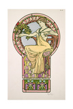 Plate 48 from 'Documents Decoratifs', 1902 Giclee Print by Alphonse Mucha