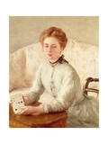 A Turn of the Cards Giclee Print by Philip Wilson Steer