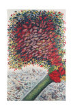 The Red Tree, 1928-30 Giclee Print by Seraphine Louis
