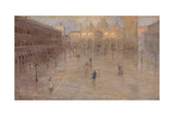 Piazza San Marco, 1899 Giclee Print by Pietro Fragiacomo