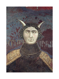 Allegory of Bad Government, Detail of Tyranny, 1338-40 Giclee Print by Ambrogio Lorenzetti