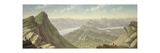 North-West View from Ben Lomond Giclee Print by John Knox