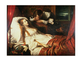 The Bride in Death, 1839 Giclee Print by Thomas Jones Barker
