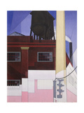 .... and the Home of the Brave, 1931 Giclee Print by Charles Demuth