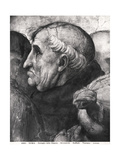 Portrait of Savonarola (1452-98) from La Disputa in the Stanza Della Segnatura, 1508-11 Giclee Print by  Raphael