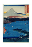 Pine Moor at Mio, Suruga Province from 'Famous Places of the Sixty Provinces', 1853 Giclee Print by Ando Hiroshige