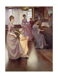 The Minuet, 1892 Giclee Print by Elizabeth Adela Stanhope Forbes