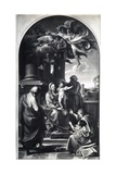 Madonna and Child with Saints, c.1738 Giclee Print by Pompeo Batoni