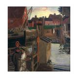 The Ferry, Walberswick Giclee Print by Maurice Greiffenhagen