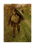 The Woodman, 1894 Giclee Print by Henry Herbert La Thangue