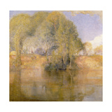 Vetheuil, 1892 Giclee Print by Charles Edward Conder